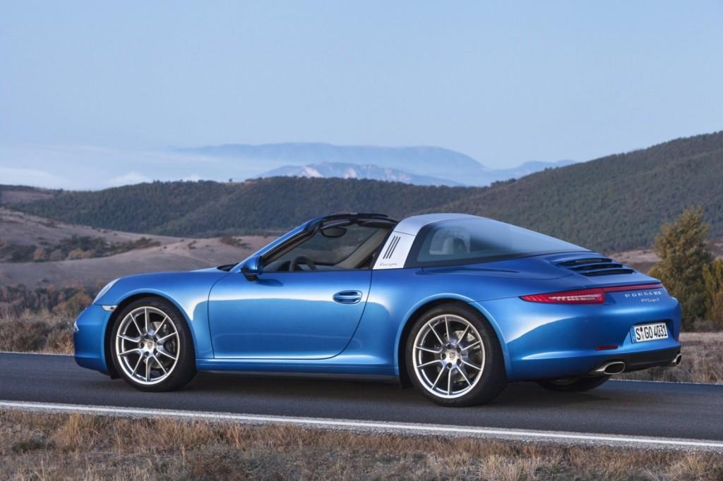 New Porsche Targa